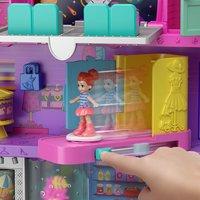 Mattel Speelset Polly Pocket Polyville Mega Mall Super Pack-Afbeelding 2