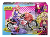 Barbie moto Spy Squad Motorcycle-Avant