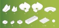 Hubelino accessoires voor knikkerbaan 22 stuks-Artikeldetail