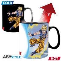 Mug magique Dragon Ball Goku vs Buu-Détail de l'article