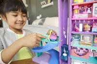 Mattel Speelset Polly Pocket Polyville Mega Mall Super Pack-Afbeelding 5