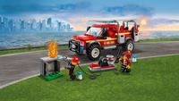 LEGO City 60231 Reddingswagen van brandweercommandant-Afbeelding 4