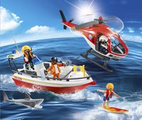 Playmobil City Action 5668 Kustwacht-Afbeelding 1