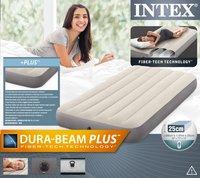 Intex matelas gonflable pour 1 personne Dura-Beam Plus Twin-Avant