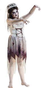 Verkleedpak zombiebruid maat 42