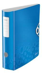 Leitz classeur met hefboom A4 Wow Active 8,2 cm blauw-Linkerzijde