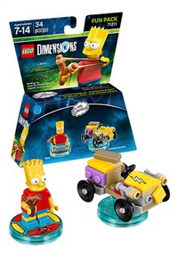 LEGO Dimensions figurine Fun Pack Simpsons 71211 Bart