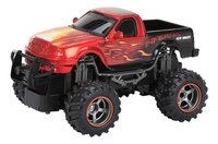New Bright voiture RC Monster Truck Dragons Pick up rouge