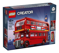 LEGO Creator 10258 London Bus-Vooraanzicht