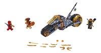 LEGO Ninjago 70672 Cole's crossmotor-Vooraanzicht
