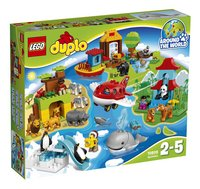 LEGO DUPLO 10805 Rond de wereld-Vooraanzicht