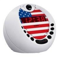 iCES radio-réveil avec projection USA ICRP-212-Côté gauche
