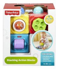 Fisher-Price bloc d'activités Stacking Action Blocks - 3 pièces