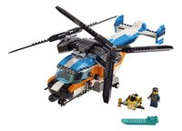 LEGO Creator 3-in-1 31096 Dubbel-rotor helikopter-Vooraanzicht