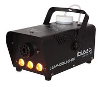 ibiza machine à fumée avec LED LSM400LED-BK-Détail de l'article