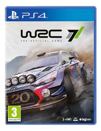 PS4 WRC 7 ENG/FR-Vooraanzicht