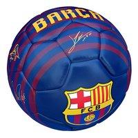 Ballon de football FC Barcelona taille 5-Vue du haut