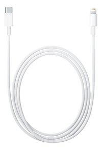 Apple Kabel Lightning naar USB-C 1m-Vooraanzicht