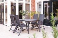 Hartman chaise de jardin réglable Sydney anthracite-Image 1