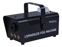 ibiza machine à fumée avec LED LSM400LED-BK