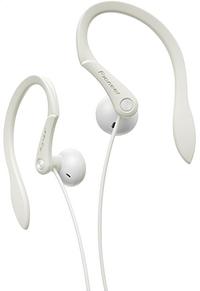 Pioneer oortelefoon SE-E511 sport wit