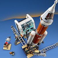 LEGO City 60228 Ruimteraket en vluchtleiding-Afbeelding 3