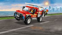 LEGO City 60231 Reddingswagen van brandweercommandant-Afbeelding 3