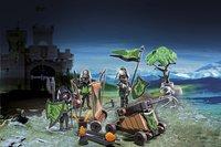 Playmobil Knights 6041 La catapulte des chevaliers du Loup-Image 1