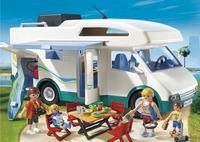 Playmobil Summer Fun 6671 Grote familie-camper-Afbeelding 1