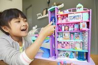 Mattel Speelset Polly Pocket Polyville Mega Mall Super Pack-Afbeelding 6