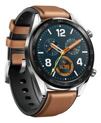 Huawei Smartwatch GT - Classic Edition bruin-Linkerzijde