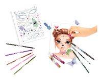 Kleurboek TOPModel Create your Fantasy Face-Artikeldetail