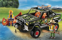 Playmobil Wild Life 5558 Pick-up des aventuriers-Image 1