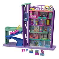 Mattel Speelset Polly Pocket Polyville Mega Mall Super Pack-commercieel beeld