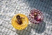 Swim Essentials Zwemband gele Circusprint-Afbeelding 6