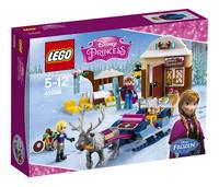 LEGO Disney Princess 41066 Slee avontuur met Anna en Kristoff
