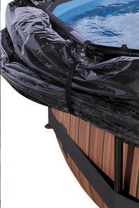 EXIT zwembad Wood met overkapping Ø 3,6 m-Artikeldetail
