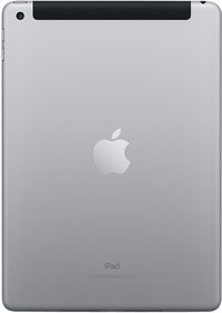 Apple iPad Wi-Fi + cellular 32 GB spacegrijs-Achteraanzicht