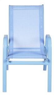 Chaise de jardin pour enfant bleu