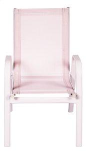 Chaise de jardin pour enfant rose