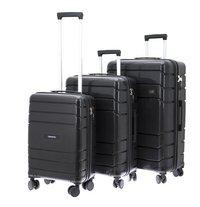 867623727e1 Davidt's set van 3 harde trolleys Camino zwart