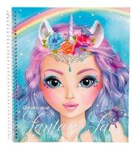 Kleurboek TOPModel Create your Fantasy Face-Vooraanzicht