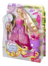 Barbie speelset Endles Hair Kingdom Snap 'N Style-Rechterzijde