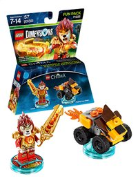 LEGO Dimensions figuur Fun Pack Chima 71222 Laval
