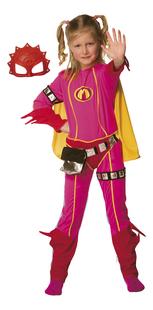 Verkleedpak Mega Mindy 6-8 jaar met gratis masker-Vooraanzicht