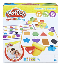 Play-Doh Spelen & Leren Kleuren & Vormen