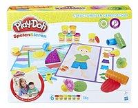 Play-Doh Spelen & Leren Structuren en gereedschap