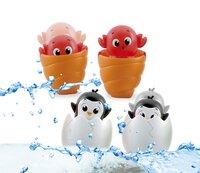baby Clementoni jouet de bain Peekaboo Water Friends - 1 pièce-Image 1