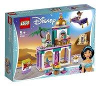 LEGO Disney Princess 41161 Les aventures au Palais de Jasmine et Aladdin-Côté gauche