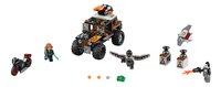 LEGO Super Heroes 76050 L'attaque toxique de Crossbones-Avant